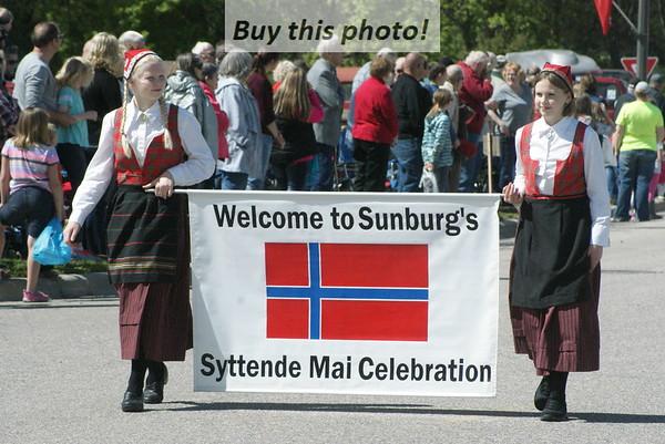Sunburg Syttende Mai 2016