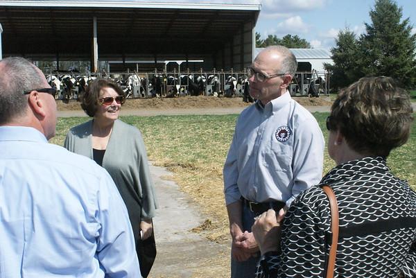 USDA visits Redhead Creamery