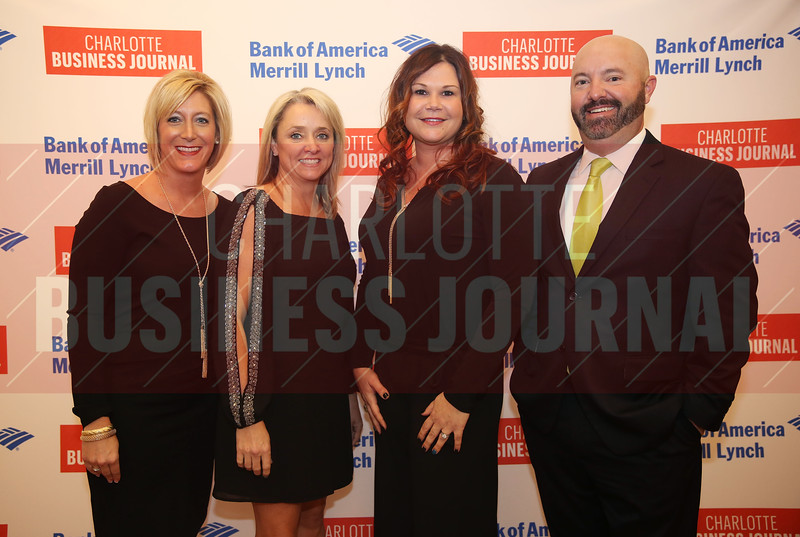 Performance Staffing Solutions, Inc. coworkers pose for a photo at the CBJ Book of Lists Gala held at the Foundation For The Carolinas on Jan. 28.