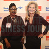 Terri Craft and Kim Wallace of Hire Dynamics pose for a photo at the CBJ Book of Lists Gala held at the Foundation For The Carolinas on Jan. 28.
