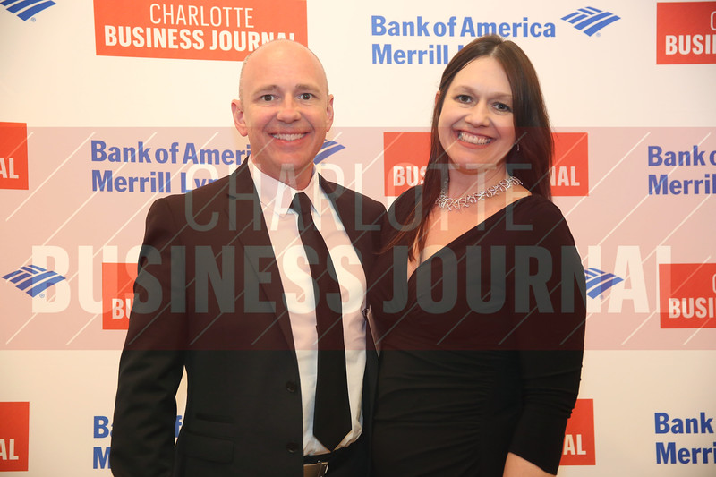 Sean McIlveen and Angela McIlveen of McIlveen Family Law Firm pose for a photo at the CBJ Book of Lists Gala held at the Foundation For The Carolinas on Jan. 28.