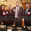 Charlotte Knights employees pose for a photo at their table at the CBJ Book of Lists Gala held at the Foundation For The Carolinas on Jan. 28.