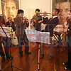 Jazz Arts Initiative students play music at the CBJ Book of Lists Gala held at the Foundation For The Carolinas on Jan. 28.
