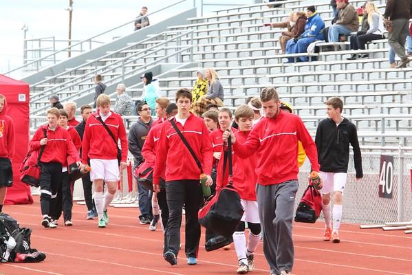 Marion  vs. Mt. Vernon Boys' Soccer Jamboree 3/31/16