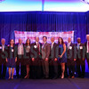 The CFO of the Year winners and finalists pose for a group photo.