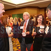 Continental Tire employees network before the start of the CFO of the Year Awards.