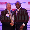 Rick Puckett of Snyder's-Lance, Inc. accepts his CFO of the Year Lifetime Achievement Award.