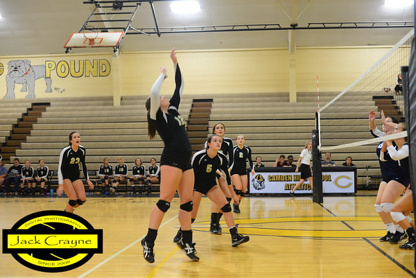 2016 09 08 CHS volleyball