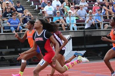 100m Dash Finals Girls Boys