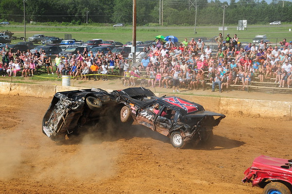 "2016 CLARKE CO FAIR ""DEMO DERBY"" 8-20-16"