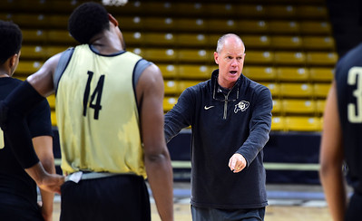 2016 CU Buffs Men's Basketball Media day