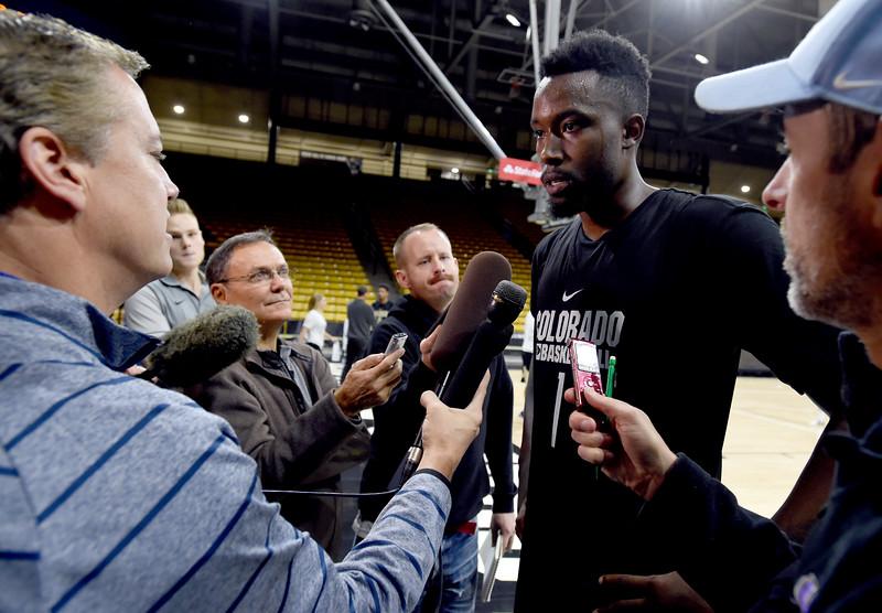 CU Men Basketball Media Day