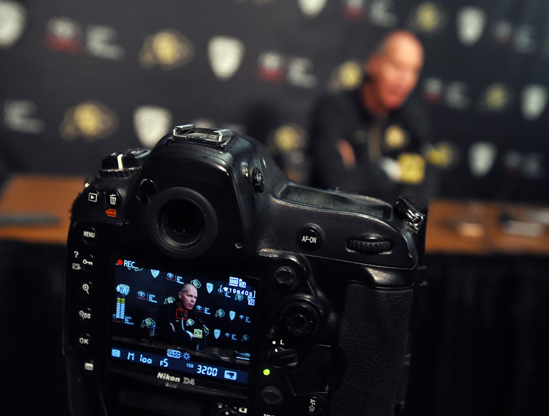 CU Men Basketball Media Day
