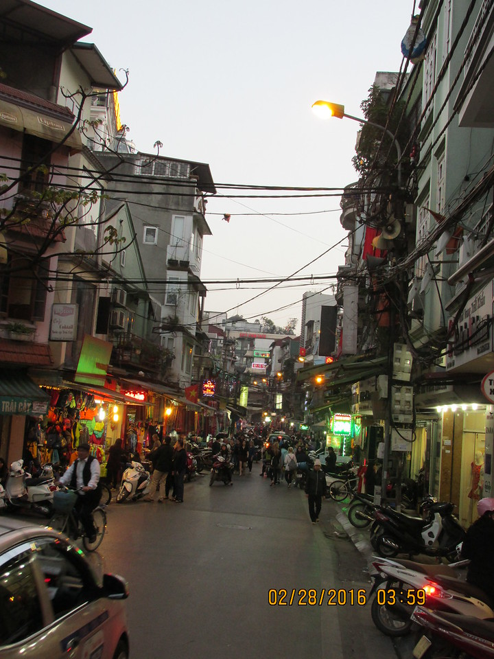0043 - Ta Hiem St in Old Quarter - Hanoi Vietnam - Date Correct but Time on Pic is Wrong