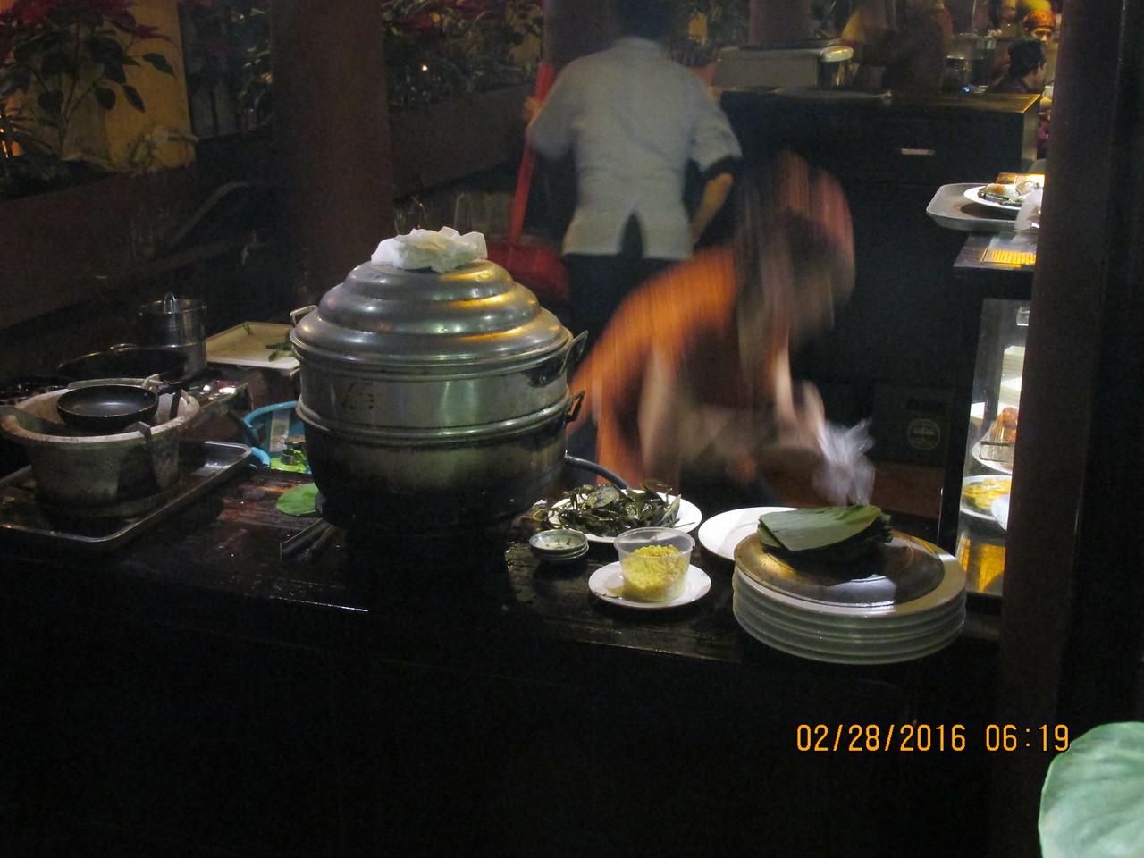 0070 - Quan An Ngon Restaurant on Phan Boi Chau - Hanoi Vietnam - Date Correct but Time on Pic is Wrong