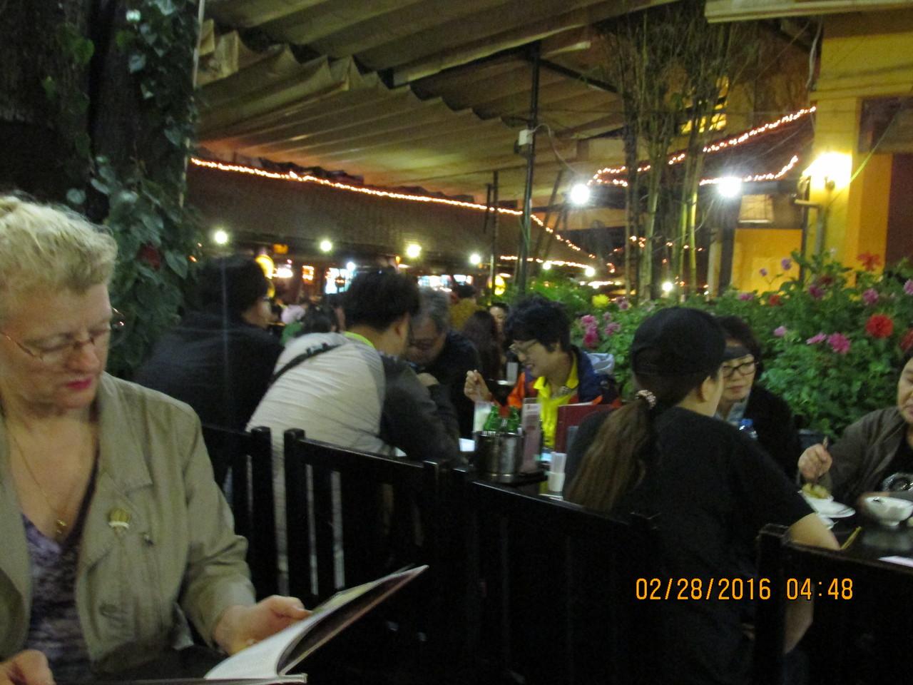 0064 - Quan An Ngon Restaurant on Phan Boi Chau - Hanoi Vietnam - Date Correct but Time on Pic is Wrong