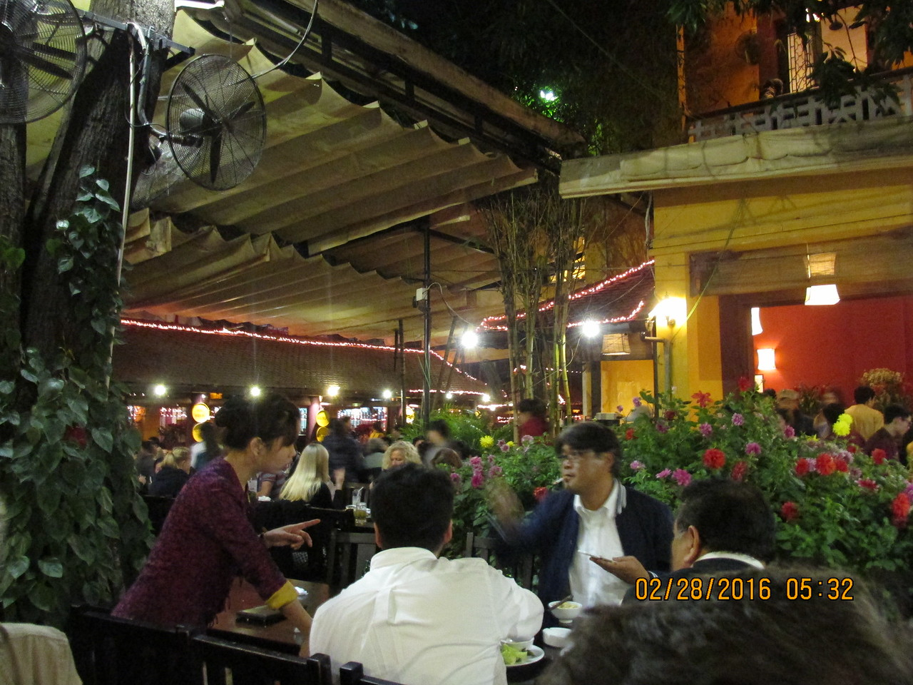 0067 - Quan An Ngon Restaurant on Phan Boi Chau - Hanoi Vietnam - Date Correct but Time on Pic is Wrong