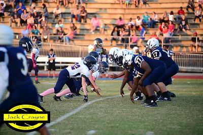 2016 10 20 CMS Football vs Lugoff Elgin