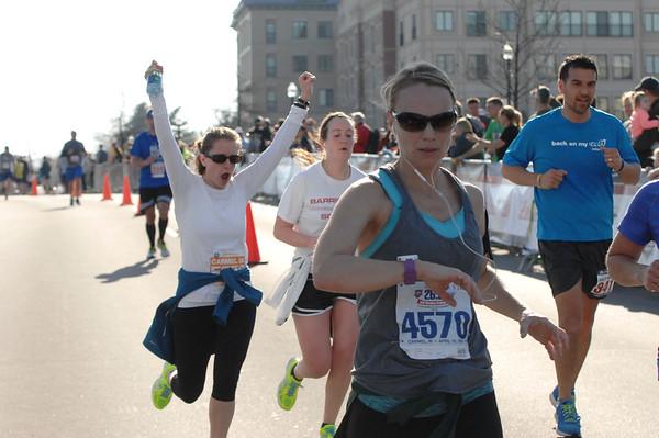 Finish - Marathon