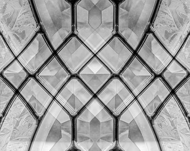 Window...B&W and Mirror Montage....Lightened and spots corrected