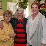 Lois Stepp, Craig Clark and Donna Osif at Bedded Bliss.