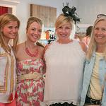 Lily Wenz, Sheri Rukabina, Meredit Metzmeier and Rose Wetherer at Cartwheels.