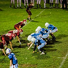 Leominster defeated Fitchburg 8-0 in the annual Chicken Bowl JV game at Crocker Field on Friday evening. SENTINEL & ENTERPRISE / Ashley Green