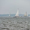 Skipjacks NATHAN of DORCHESTER, IDA MAY, REBECCA T. RUARK, LADY KATIE & CAROLINE in the lead ..... ;)