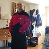 Val and his Star Trek Robe.