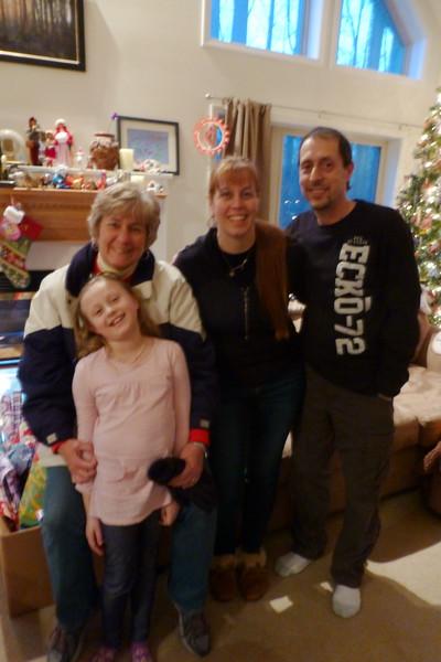 Kris, Alia, Amy and Dan