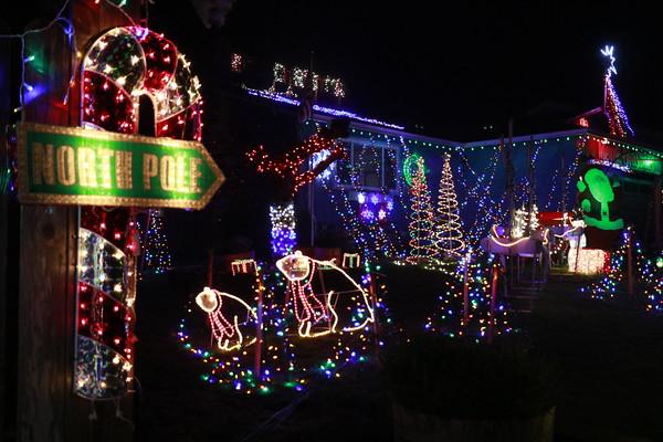 2016 Christmas lights in Eureka