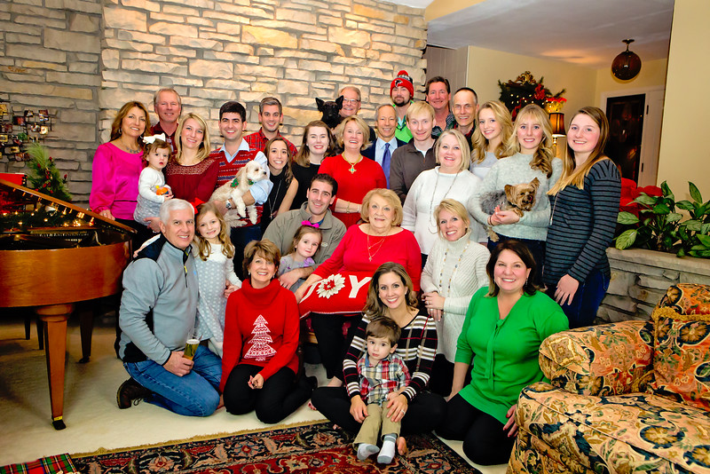 Molidor Family Christmas Photo