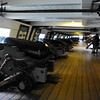 On the gun deck of the USS Constellation