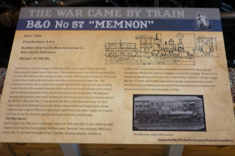 "No 57 ""Memnon""  Locomotive"