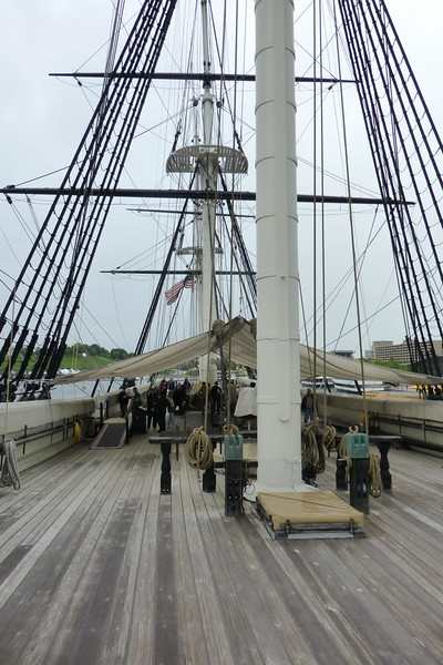 Aboard the USS Constellation