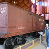 B & O Iron Boxcar 17001 built in 1863
