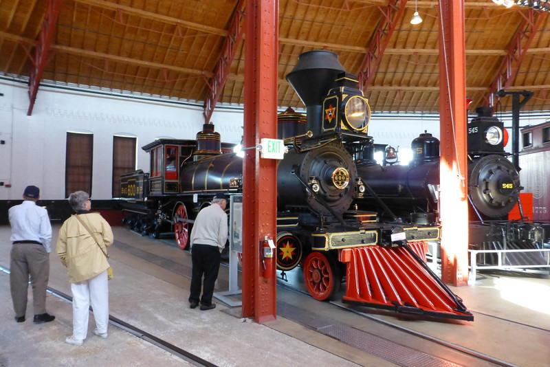 J. C. Davis No 600 2-6-0 Mogul built in 1875