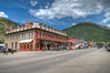 The Grand Imperial Hotel and main street in Silverton Co.