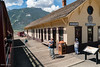 Silverton Colorado's train station.