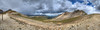 Remedying the fact that I missed taking a good panorama shot yesterday. The skies were clear when I woke up!