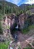 Vertical pan of Whitmore Falls.