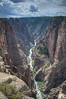 Another view looking down the Black Canyon of the Gunnison.