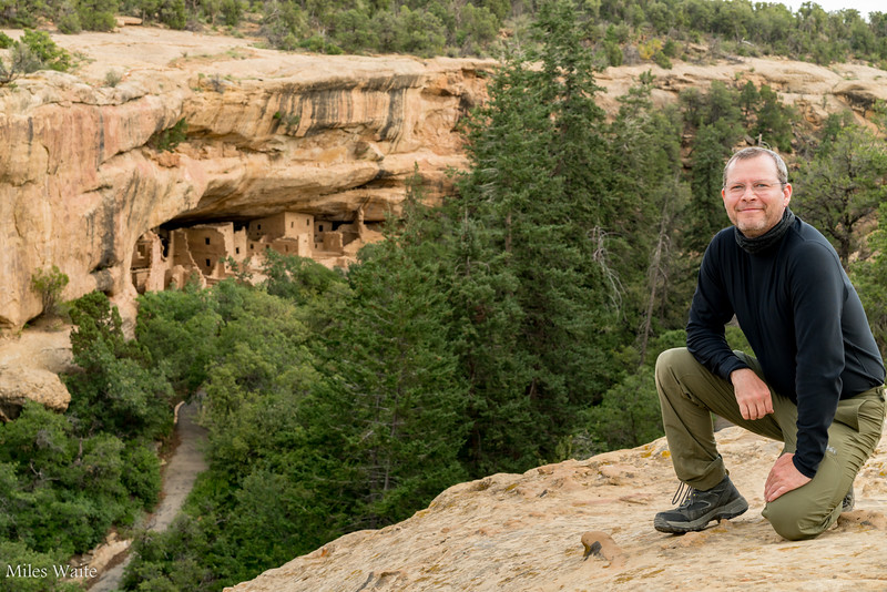 Me in front of Spruce Tree House Cliff Dwelling.