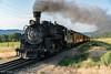 Durango Silverton Train, just out of Durango.
