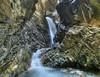 Multi Row panorama of Zapata Falls