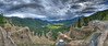 HDR Focus Stack, came out pretty good.<br /> Panoramas at Wolf Creek Pass.