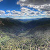 HDR Panorma Drone shot! Near the base of Mt. Evans.