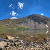 Silver Dollar Lake panorama.