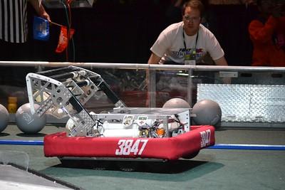 2016 First Bayou Regional Robotics Competition - Bouvier - 430