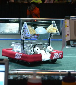 2016 First Bayou Regional Robotics Competition - Bouvier - 309